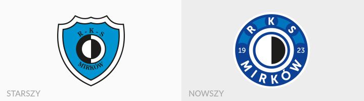 RKS Mirków rebranding