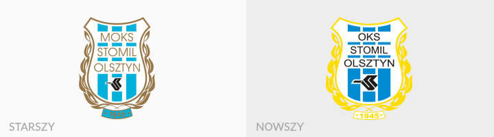 Stomil Olsztyn rebranding