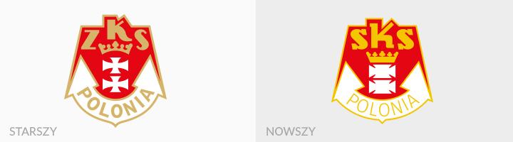 Polonia Gdańsk rebranding