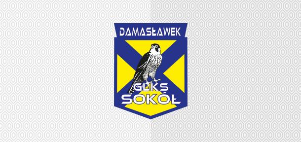 Sokół Damasławek herb klubu