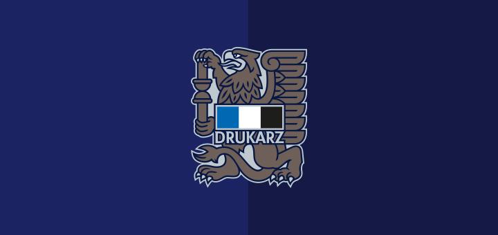 Drukarz Warszawa herb stworzny przez Jakuba Malickiego