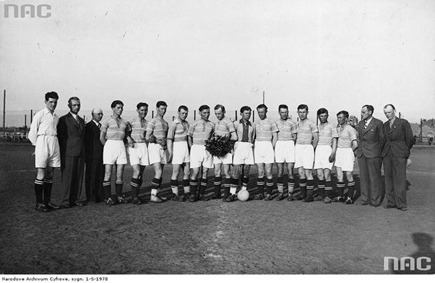 AKS Niwka w 1937 roku