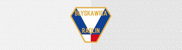 Błyskawica Radlin herb klubu