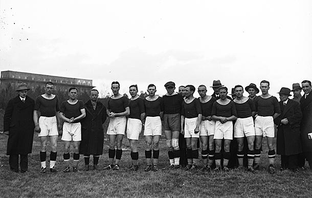 Mecz Podgórza Kraków w Lidze 1933