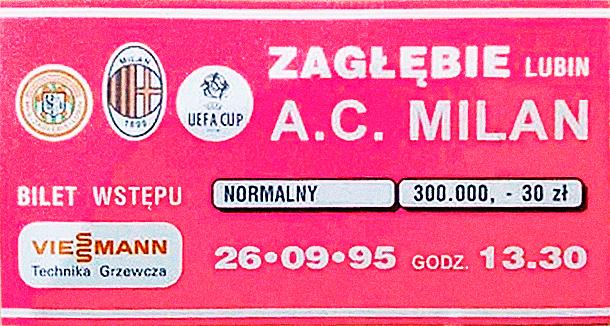 Zagłębie Lubin AC Milan