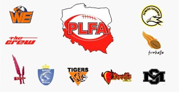 Pierwsze kluby PLFA