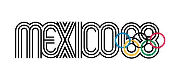 Logo olimpiady w Meksyku 1968 / Mexico 68