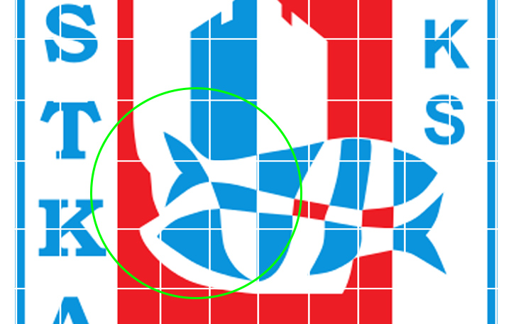 Jantar Ustka logo klubu
