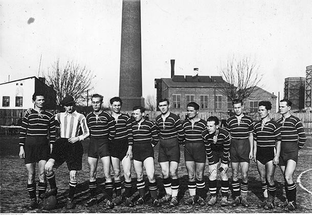 Warta Zawiercie drużyna 1936
