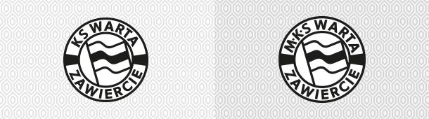 Warta Zawiercie pierwsze logo