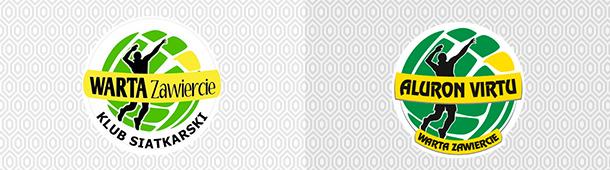 Aluron Virtu Warta Zawiercie logo klubu