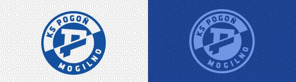 Autorskie logo Pogoni Mogilno