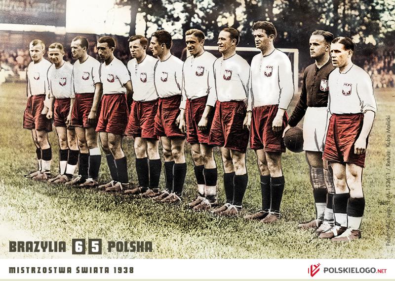 Reprezentacja Polski przed meczem z Brazylią