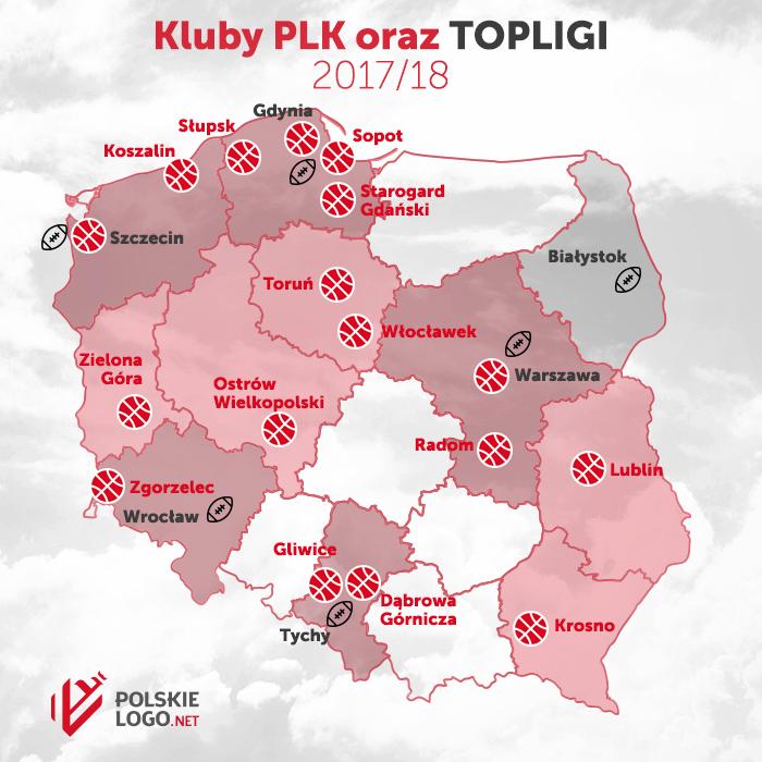 Kluby PLK 2017-18