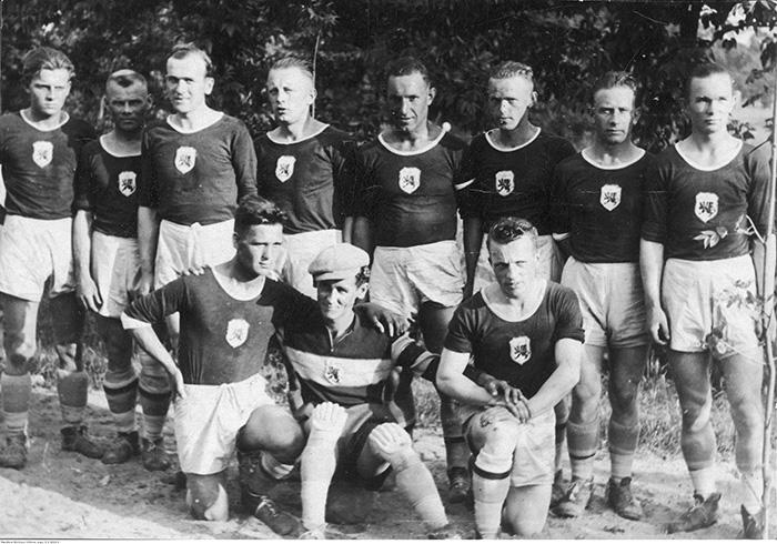 Gryf Toruń drużyna 1937