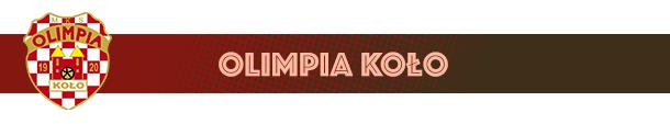 Olimpia Koło herb klubu
