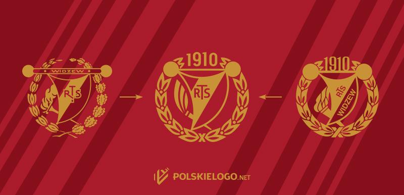 Widzew logo klubu