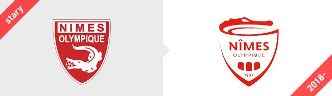 Nimes Olimpique logo 2018