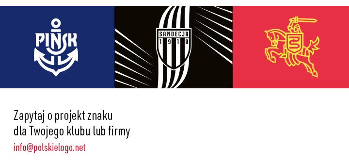 Logo firmowe, znaki graficzne, herby sportowe