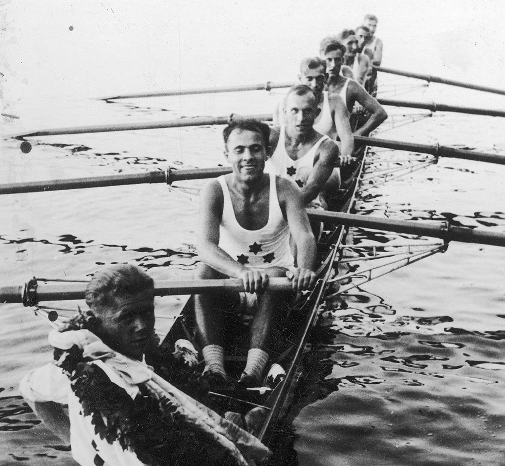 Herb Klubu Wioślarskiego 1904 / rys. Kuba Malicki