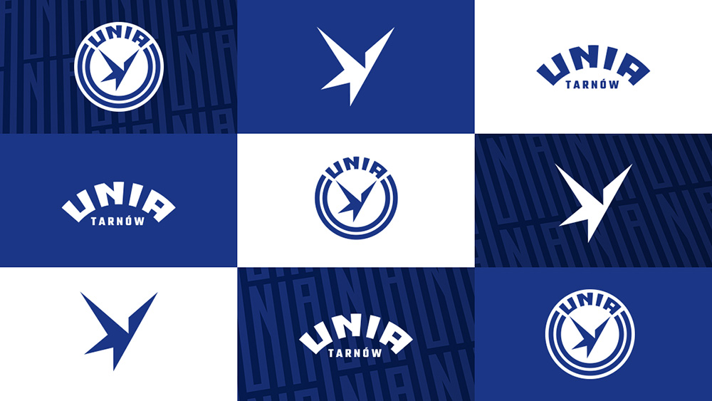 Rebranding Unii Tarnów / Design: Kuba Malicki
