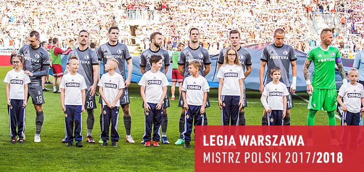 Legia Mistrz Polski 2018
