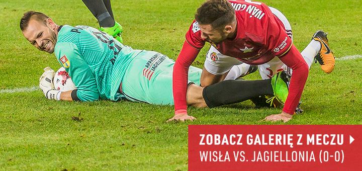 Galeria z meczu Wisła-Jagiellonia 2018