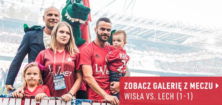 Galeria z meczu Wisła-Lech 2018