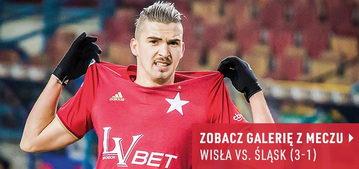 Galeria z meczu Wisła-Śląsk Wrocław 2018