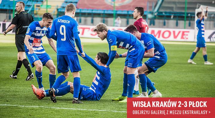 Galeria z meczu Wisły Kraków z Wisłą Płock