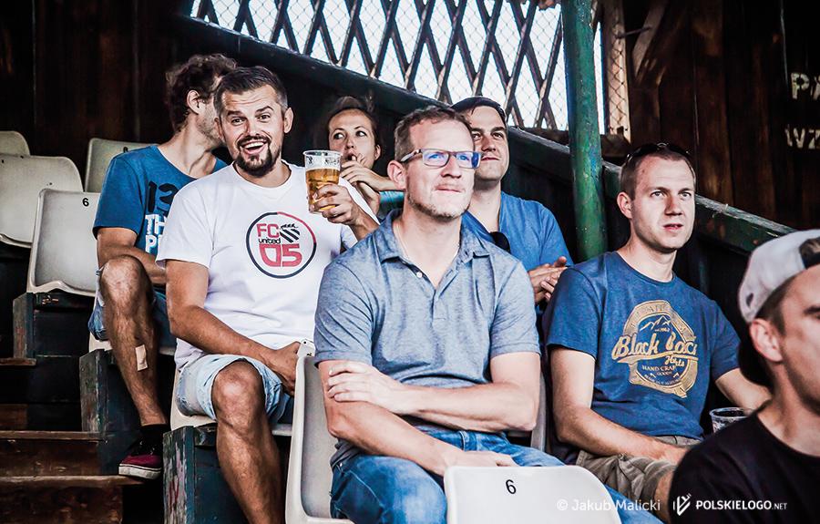 Groundhopperzy na stadionie WKS Wawel kraków