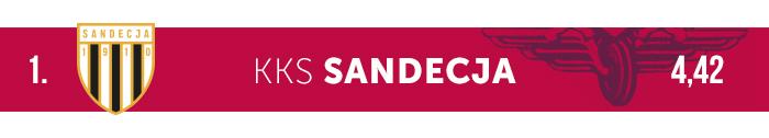 Sandecja logo klubu