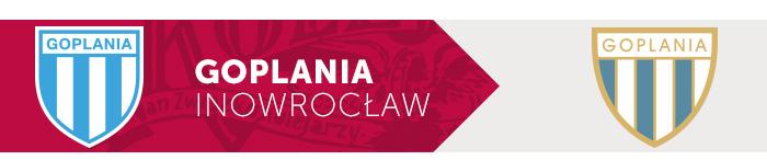 Goplania Inowrocław herb klubu