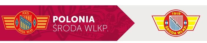 Polonia Środa Wielkopolska herb klubu