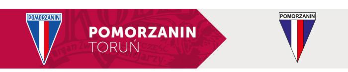Pomorzanin Toruń herb klubu