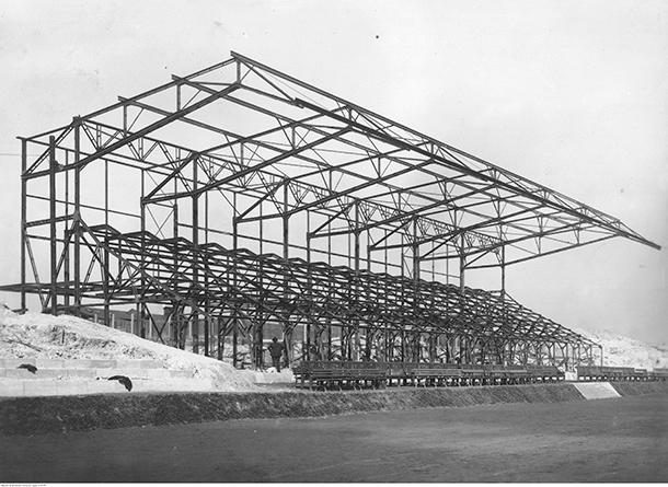 Stadion Ruchu w 1936 roku