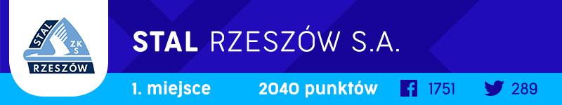 Stal Rzeszów Logo Roku 2019