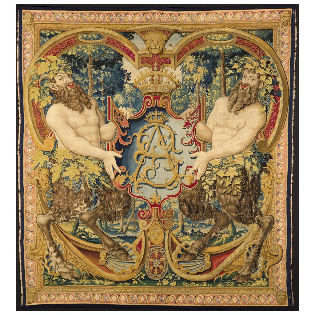 Sigismundus-Augustus-arras / monogram