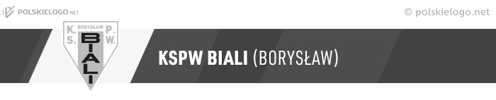 Biali Borysław herb klubu