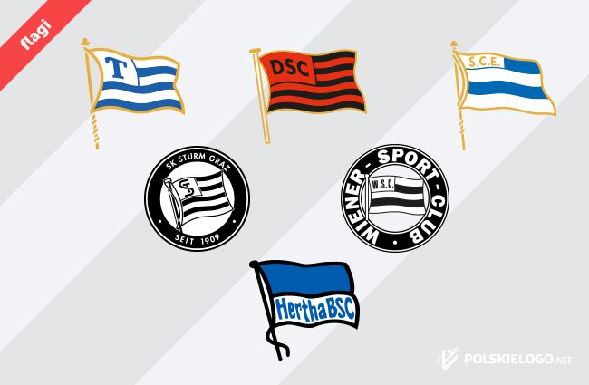 Niemieckie znaki w kształcie flagi