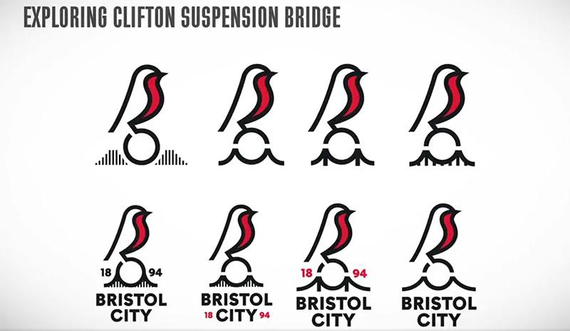 Bristol City rebranding 2019