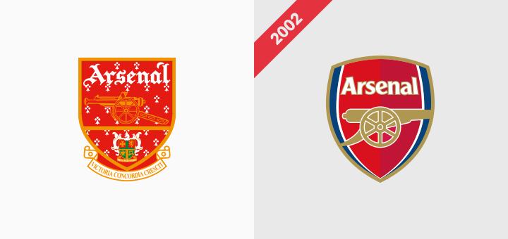 Arsenal logo rebranding