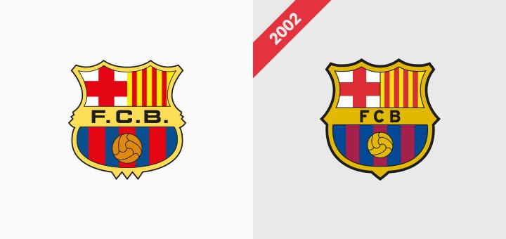 FC barcelona crest logo rebranding