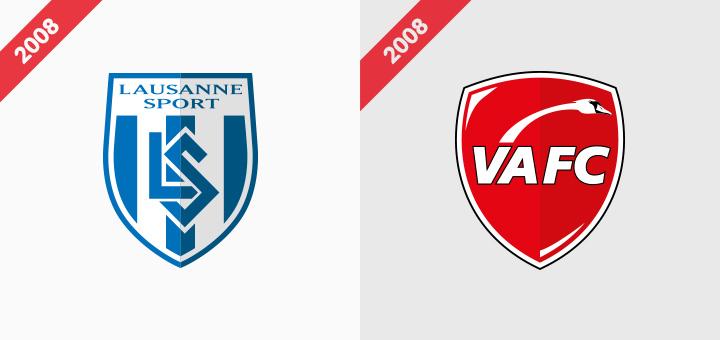 Lausanne Sports, Valenciennes logo rebranding