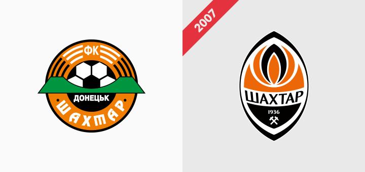 Shakhtar Donetsk rebranding logo klubu