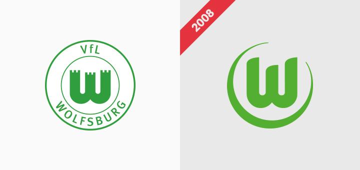 Vfl Wolfsburg crest logo rebranding